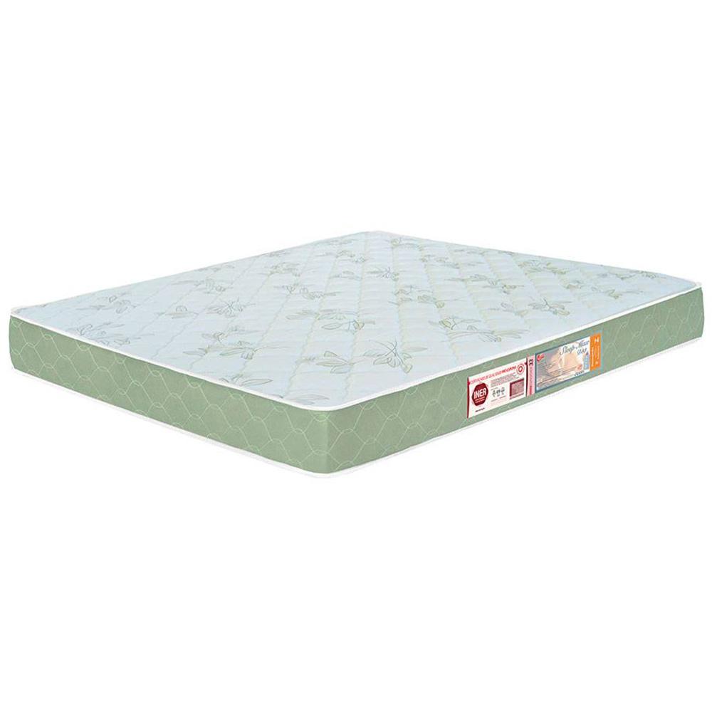 Colchão Box Casal Castor Espuma D33 Sleep Max 18cm Verde 128