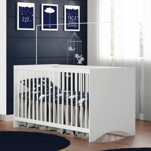 Bercinho Para Bebê Estrela Gutti Branco
