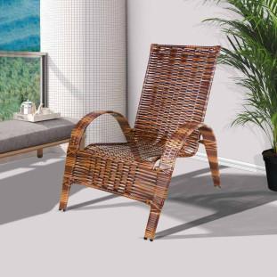 Cadeira Para Varanda E Área Externa Junco Rei