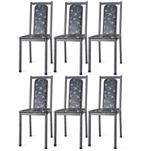 Cadeiras Para Cozinha Para Mesa De Jantar Conjunto 6 Cadeiras Bella WRM