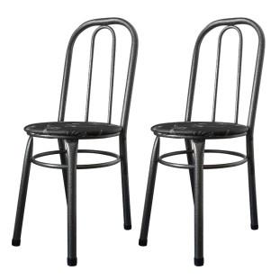 Cadeiras Para Cozinha Para Mesa De Jantar Conjunto 2 Cadeiras Julia WRM