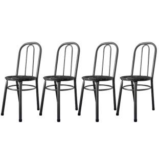 Cadeiras Para Cozinha Para Mesa De Jantar Conjunto 4 Cadeiras Julia WRM