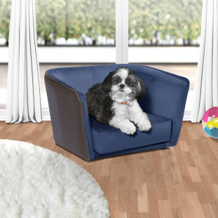 Cama Pet Azul Confort Luapa