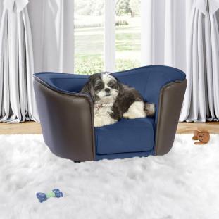 Cama Cachorro Azul Confort Fechado Luapa