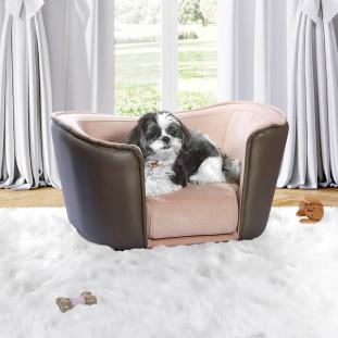 Cama Cachorro Rosa Confort Fechado Luapa