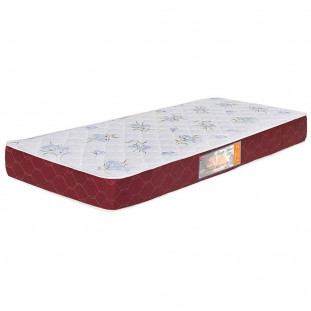 Colchão Box Solteiro Castor Espuma D20 Sleep Max 18 Cm Vinho 78