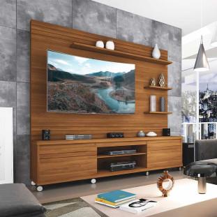 Estante Home Para Tv 65 Polegadas Cedro Freijo Germai