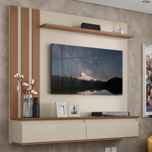 Painel TV 43 Polegadas Off White Canelato Trend 1600 Patrimar
